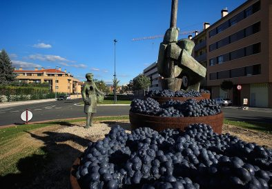 Esculturas relacionadas con la cultura del vino, DOC La Rioja, Haro, La Rioja