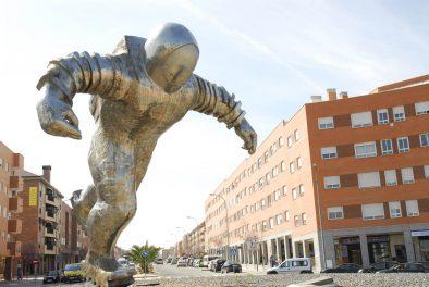 Escultura Astronauta de Francisco Leiro
